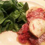 Paleo: Herb turkey and sweet potatoes pie