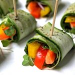 Healthy zucchini appetizers